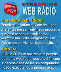 Streaming Web Rádio RG3