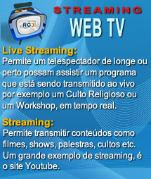 Streaming Web TV RG3